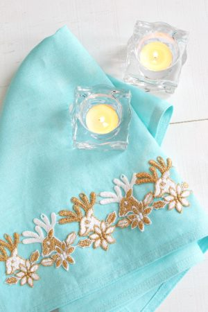 EASY APPLIQUE HOLIDAY TEA TOWEL