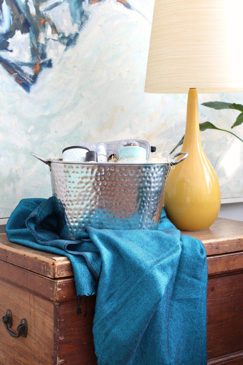 DIY Gift Basket for Beating Winter Blues