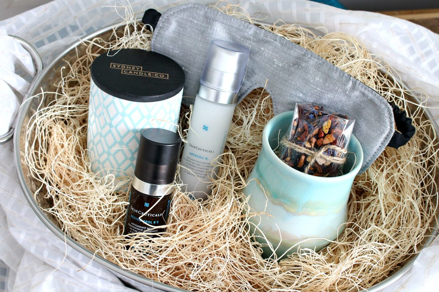 DIY Gift Basket for Beating Winter Blues   SkinCeuticals Review with BeautySense