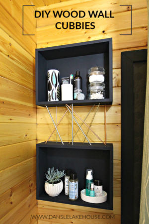 diy wall cubbies