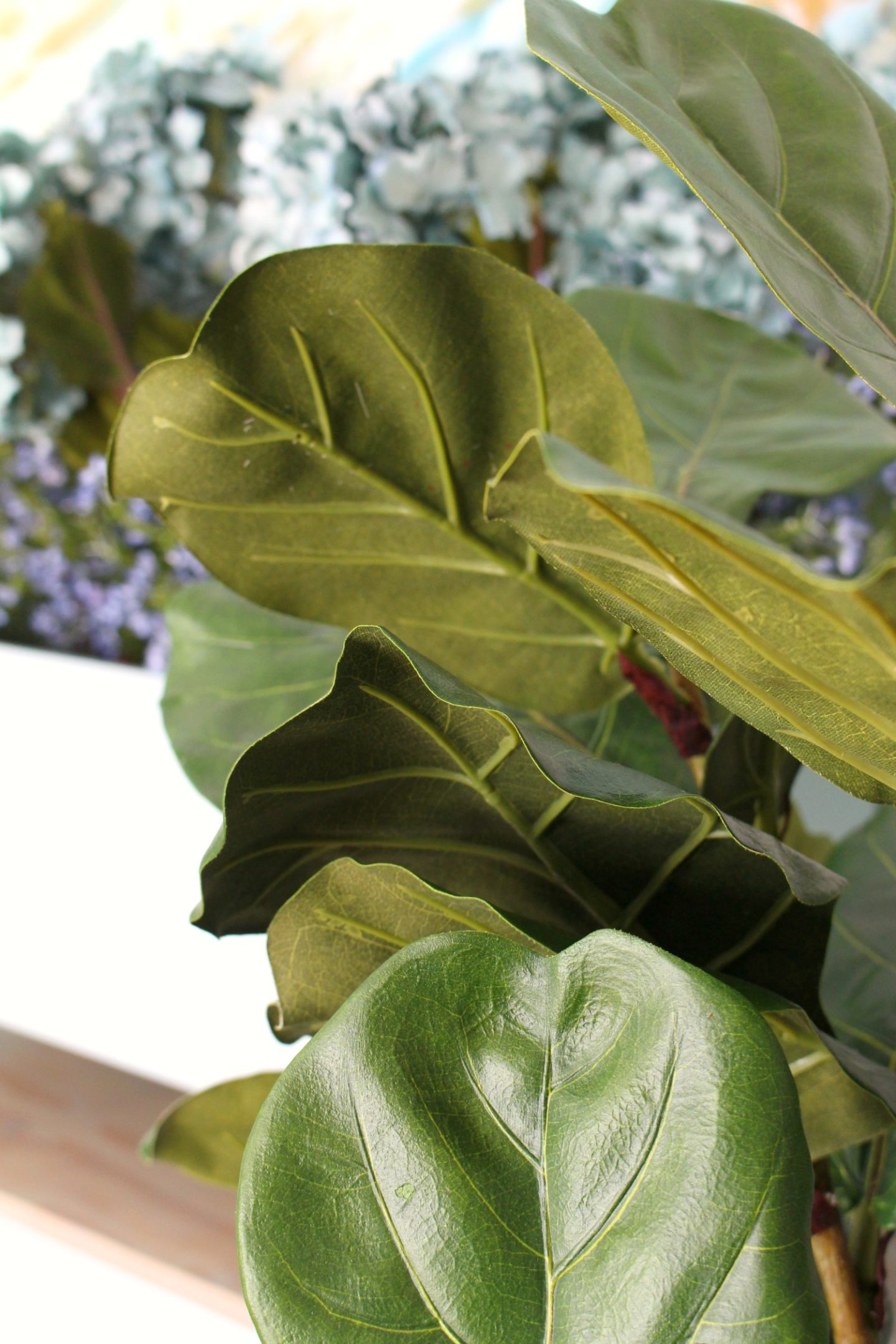 Fake Fiddle Leaf Fig That Looks Real