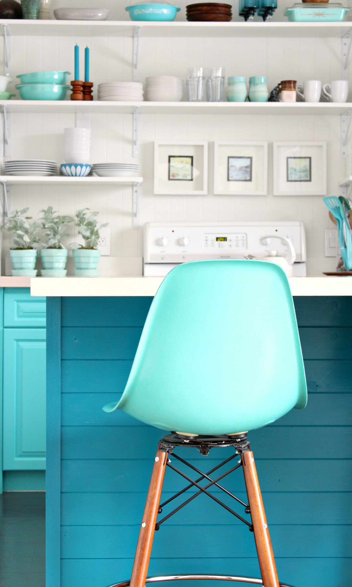 How To Install Tongue And Groove Paneling On Kitchen Cabinets New Teal Cabinet Color Dans Le Lakehouse