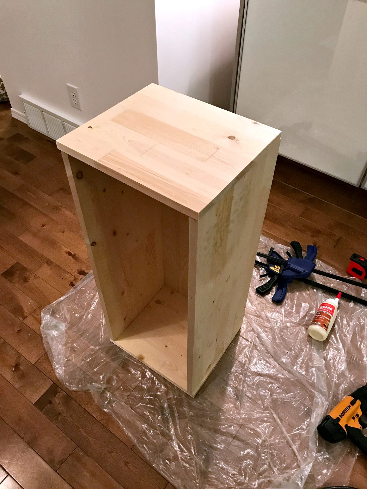 How to Build Wall Cubbies   Fresh Take on Kitchen Open Shelving. Learn How to Build Wall Cubbies and Create Easy DIY Storage Anywhere! Great for Books, Kid's Rooms, or Kitchen Organization. Love this wall cubbies storage idea!