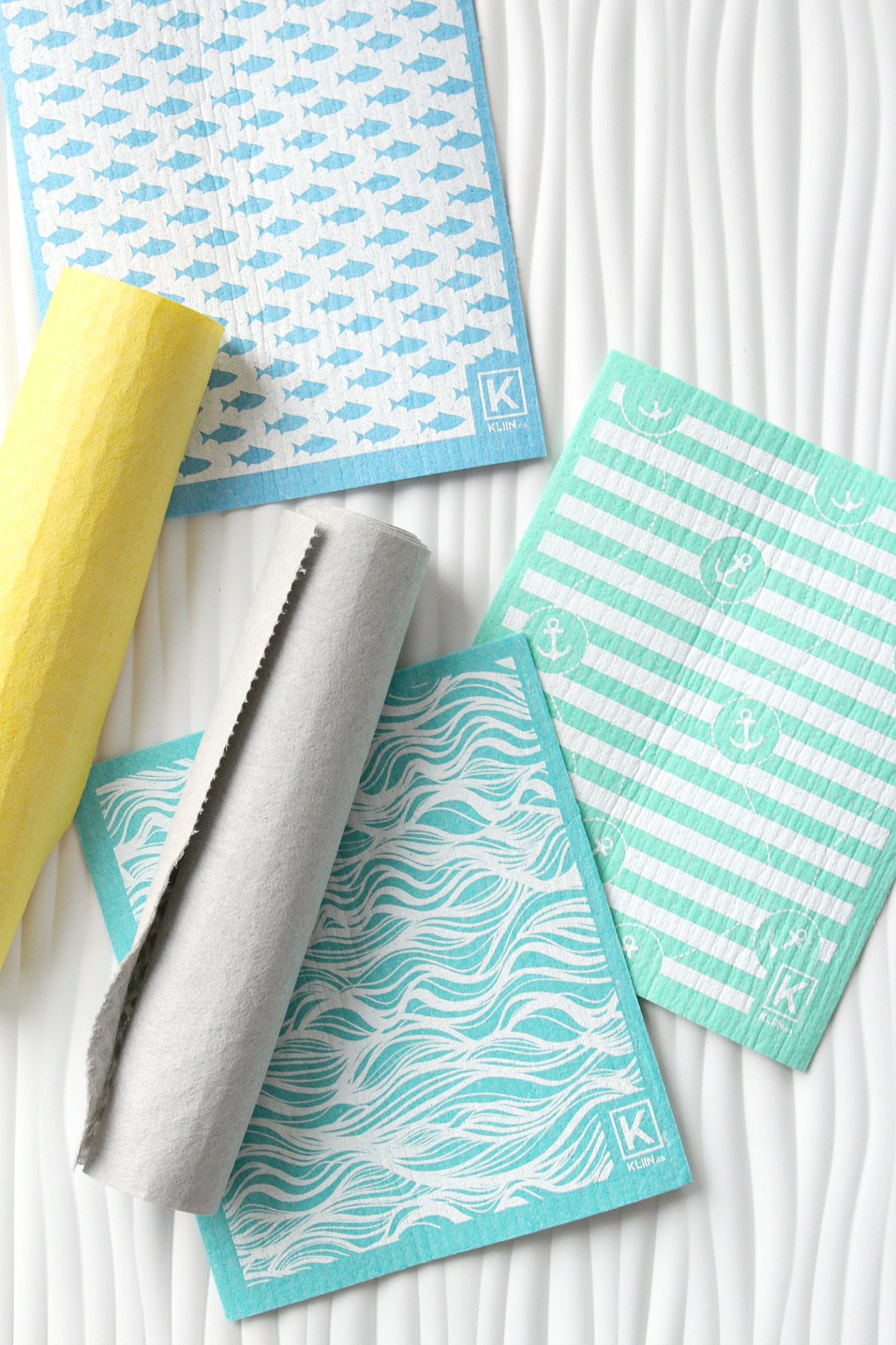 Bunkie Styling with KLIIN - The Best Paper Towel Alternative. Eco-friendly, Compostable Dish Cloths and Cleaning Cloths.