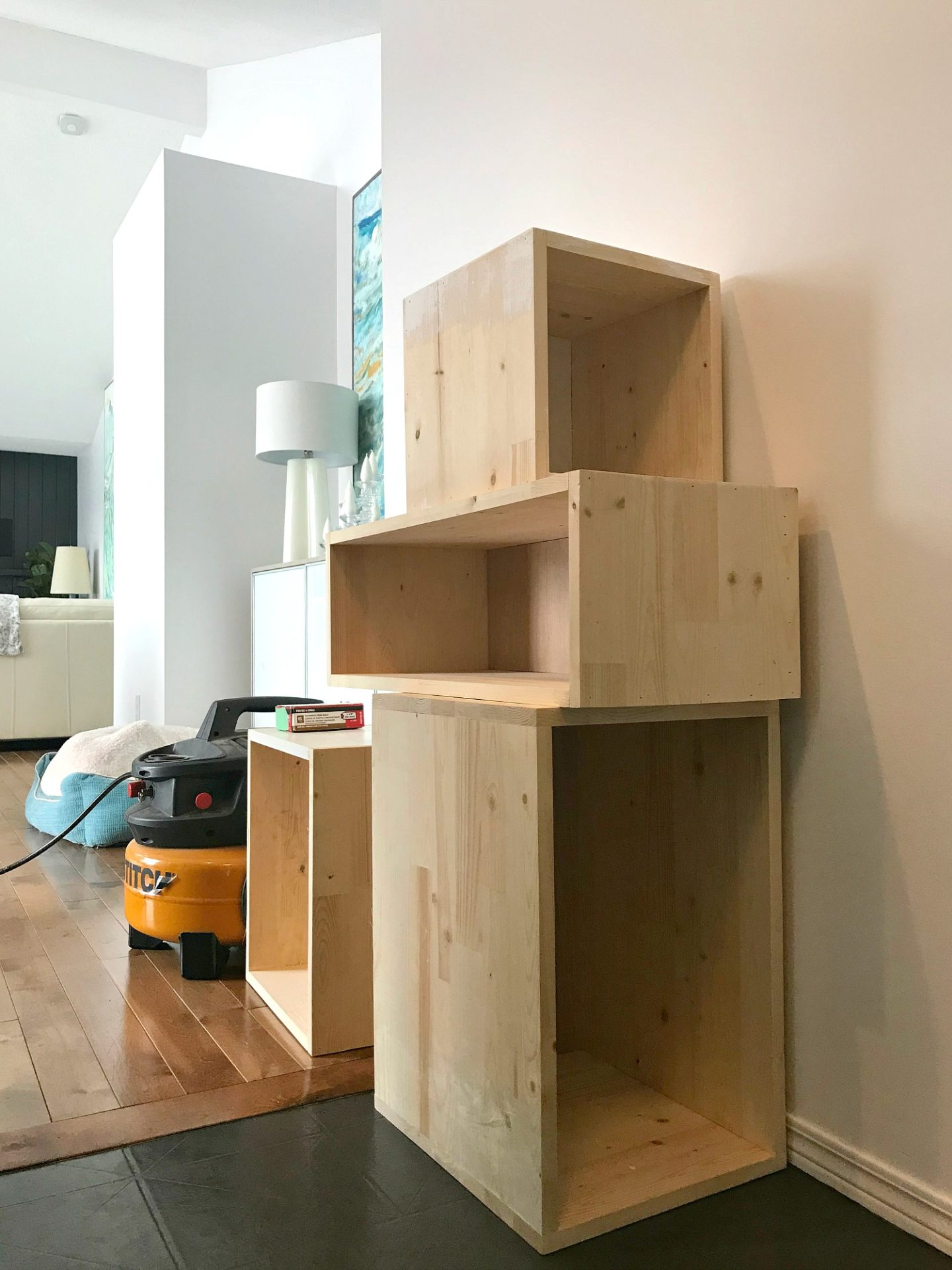 How to Build Wall Cubbies   Fresh Take on Kitchen Open Shelving. Wall Cubbies DIY Tutorial - Love These Wall Cubbies Shelves #cubbies #diystorage #openshelving
