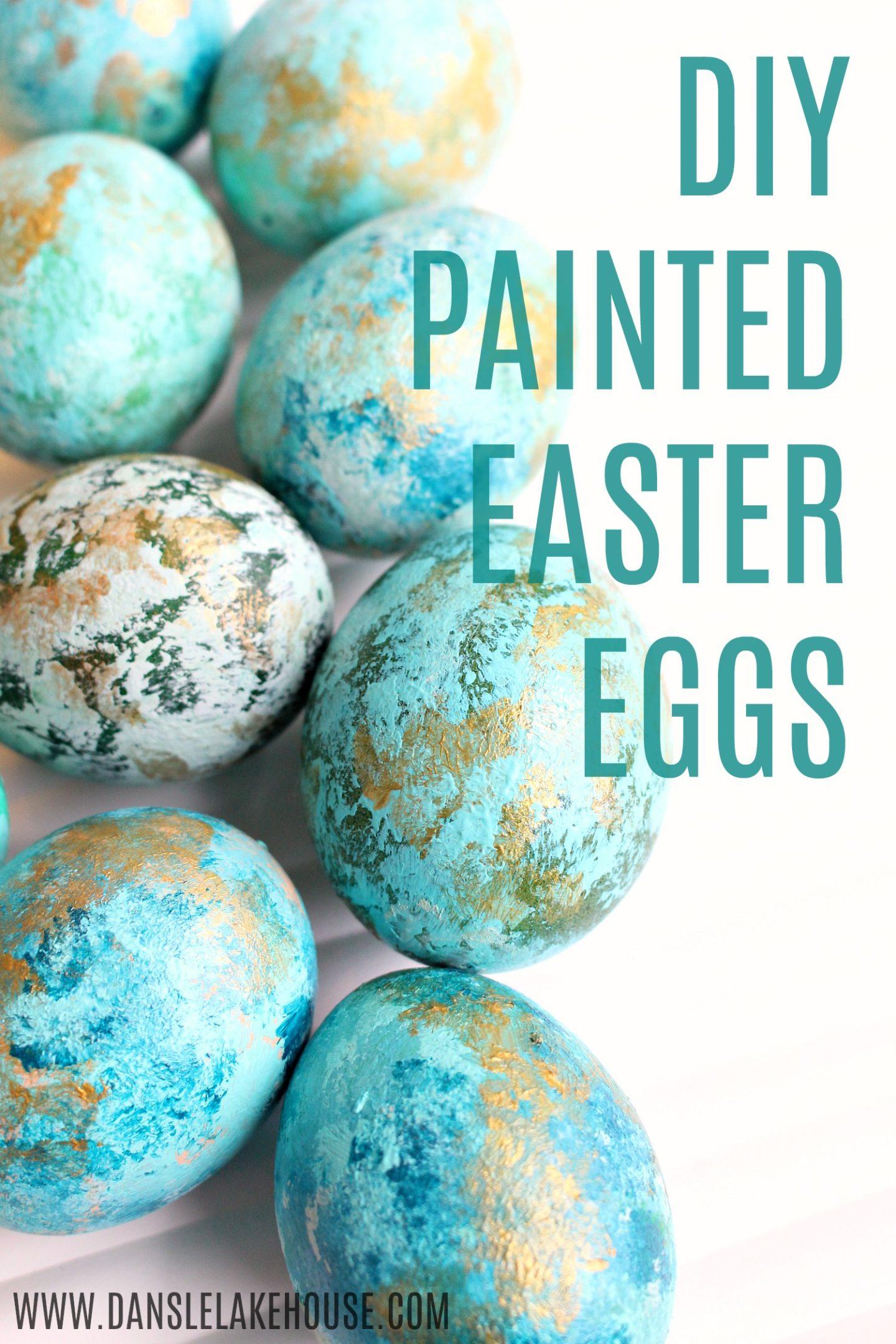 DIY Painted Easter Eggs