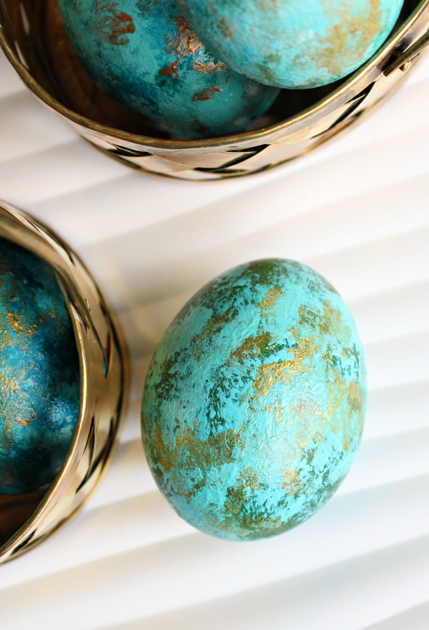 Painted Easter Eggs Tutorial