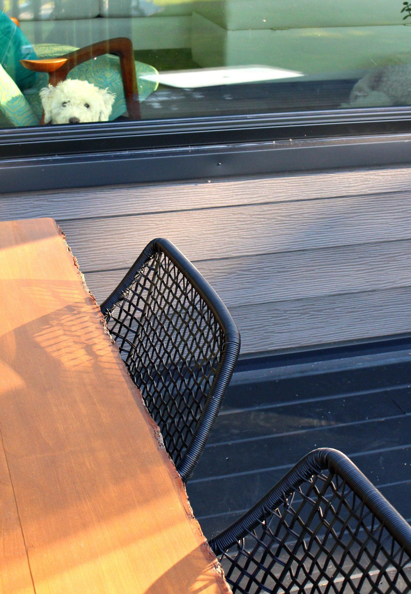 DIY Live Edge Pine Table with Bark