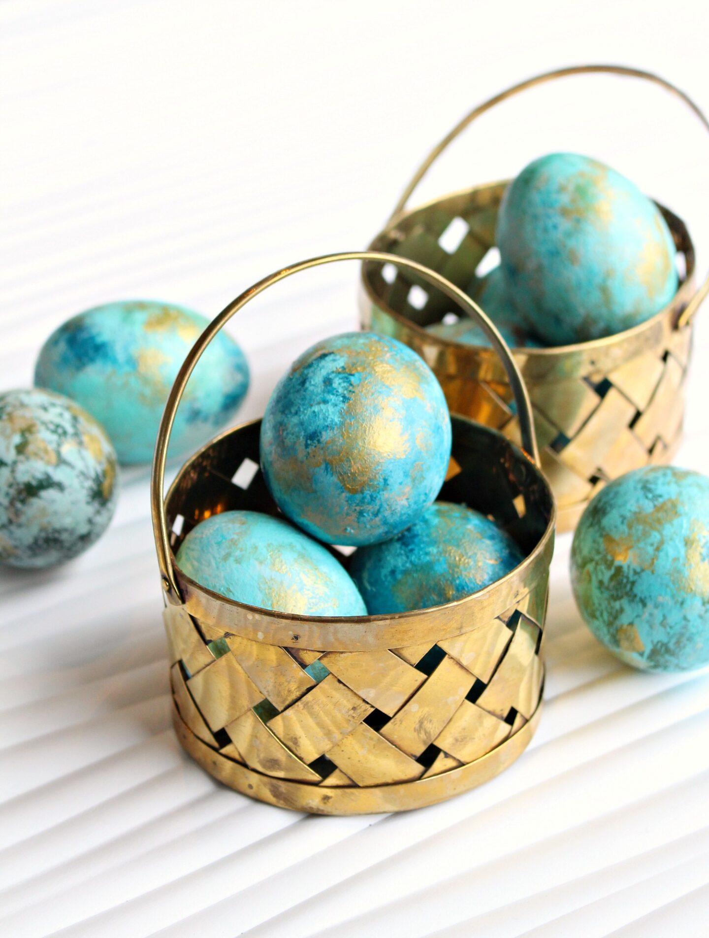 Easy Egg Decorating Idea for Kids