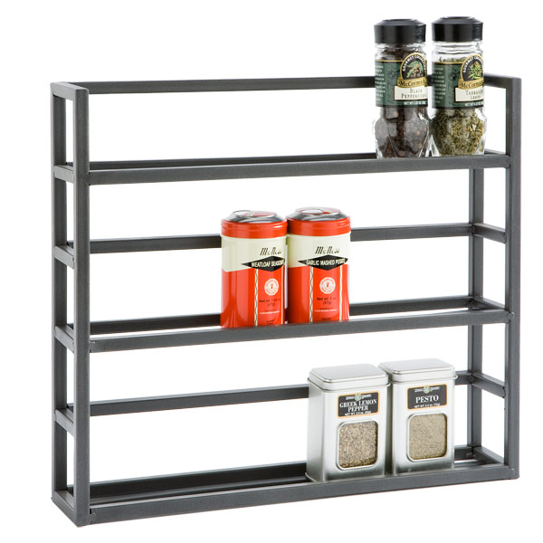 Industrial Modern Spice Rack Wall Storage