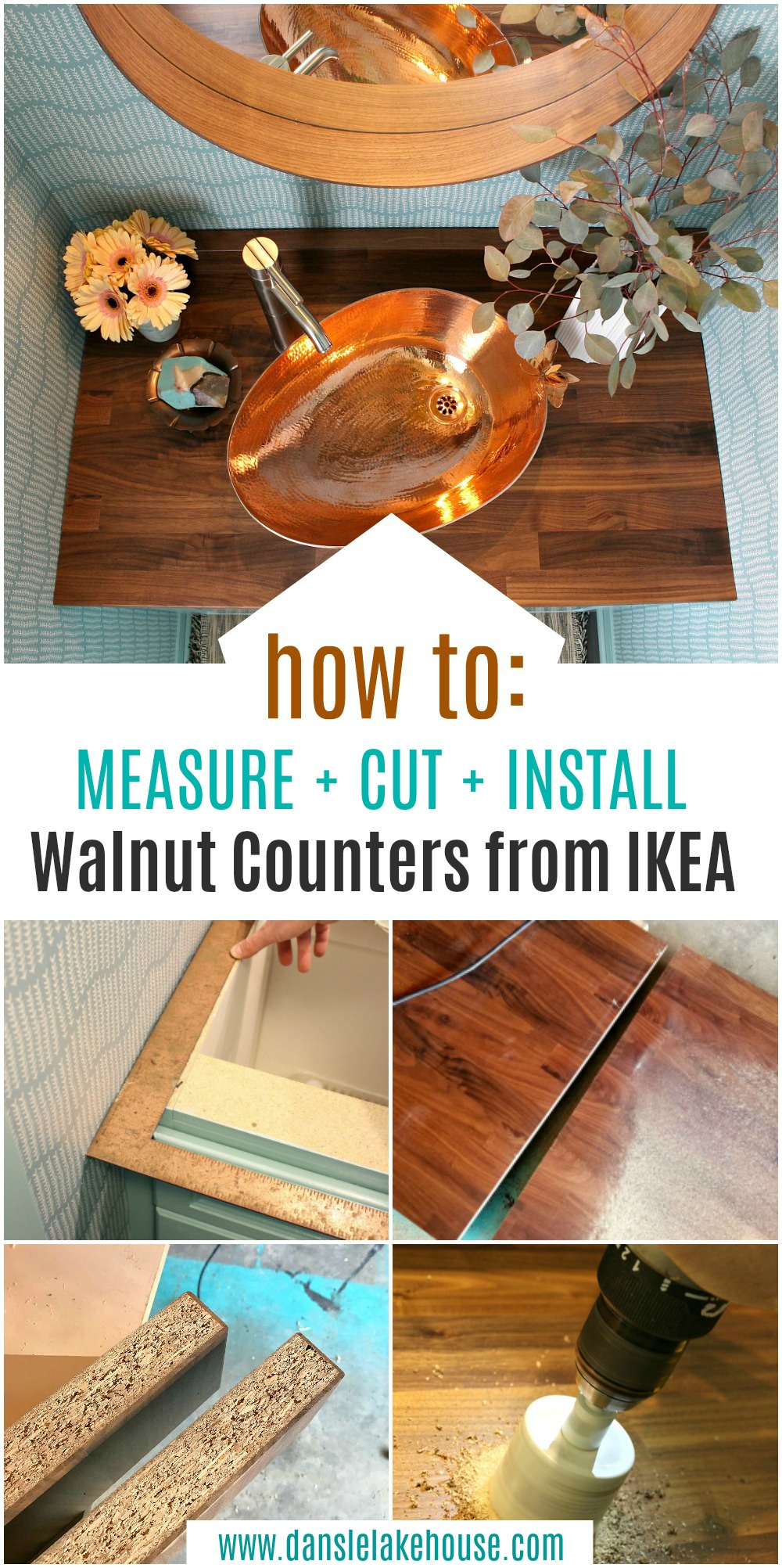 How to Install IKEA Counters