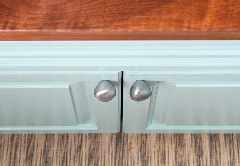 KLACKBERG IKEA knobs | Silver organic shape cabinet knobs