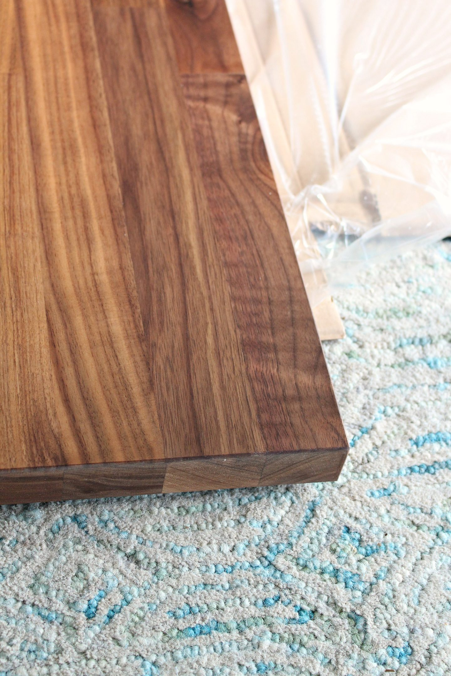 Cutting and Installing IKEA KARLBY Walnut Counter