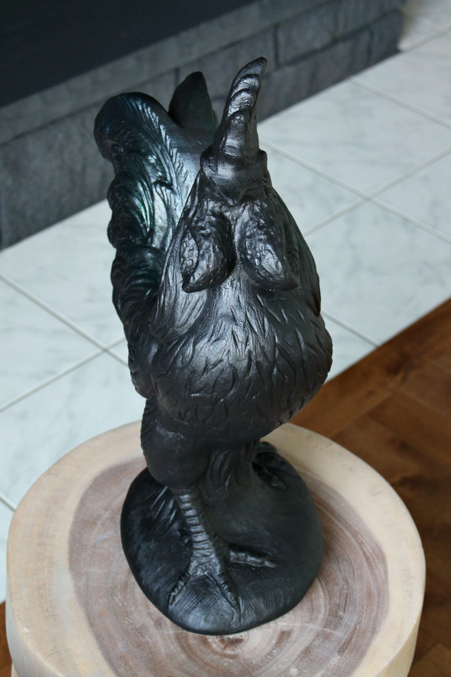 Large Rooster Sculpture