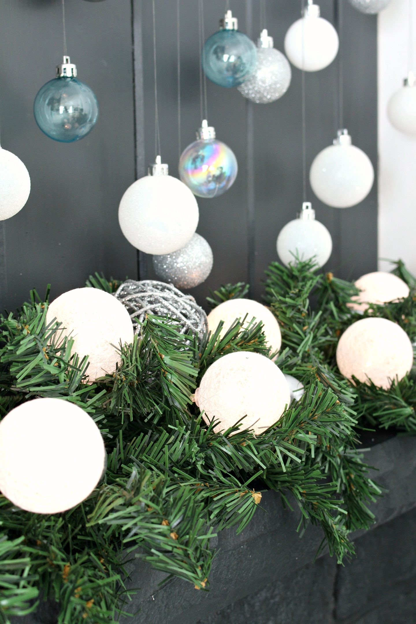 DIY Lighted Garland