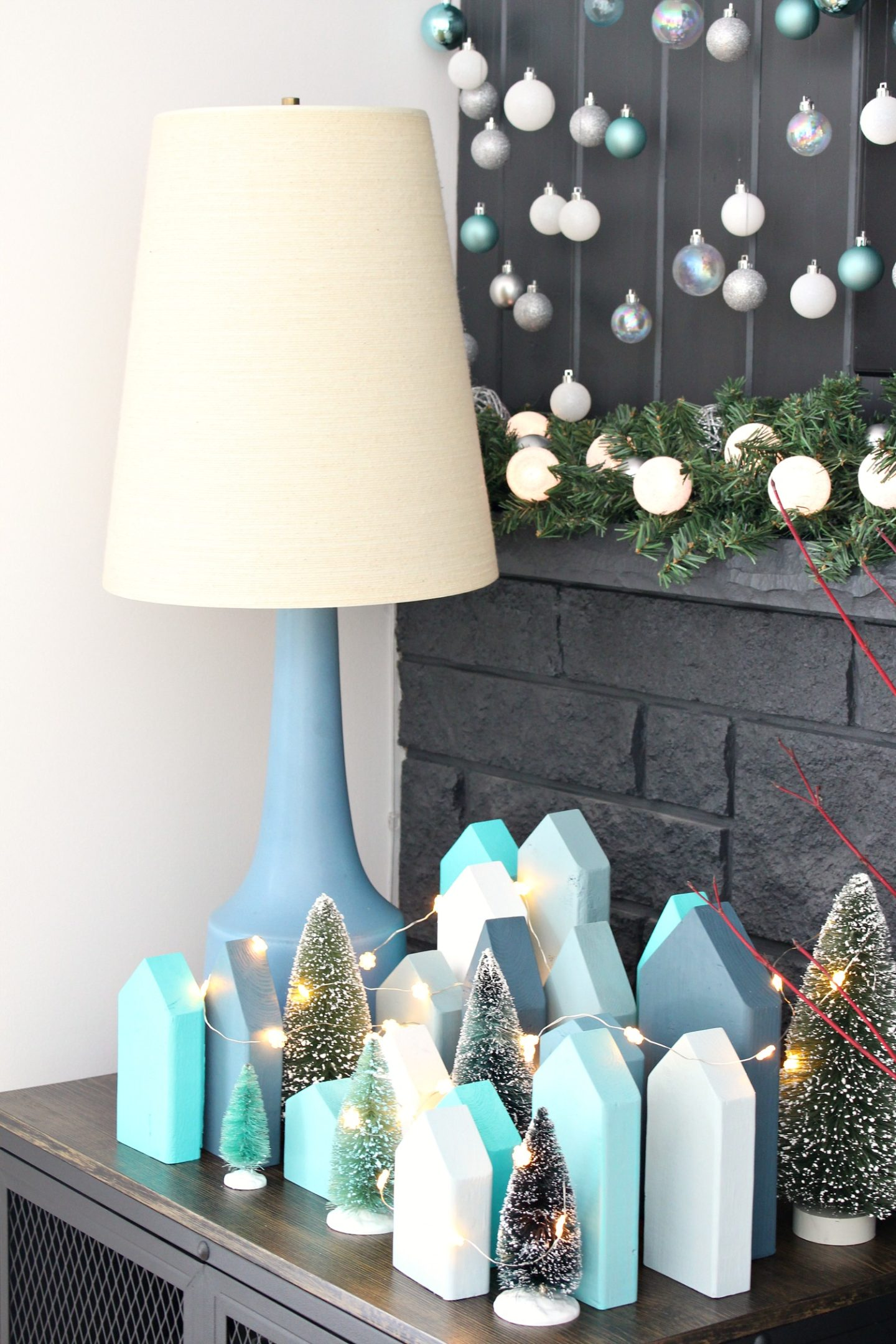DIY Holiday Village Tutorial