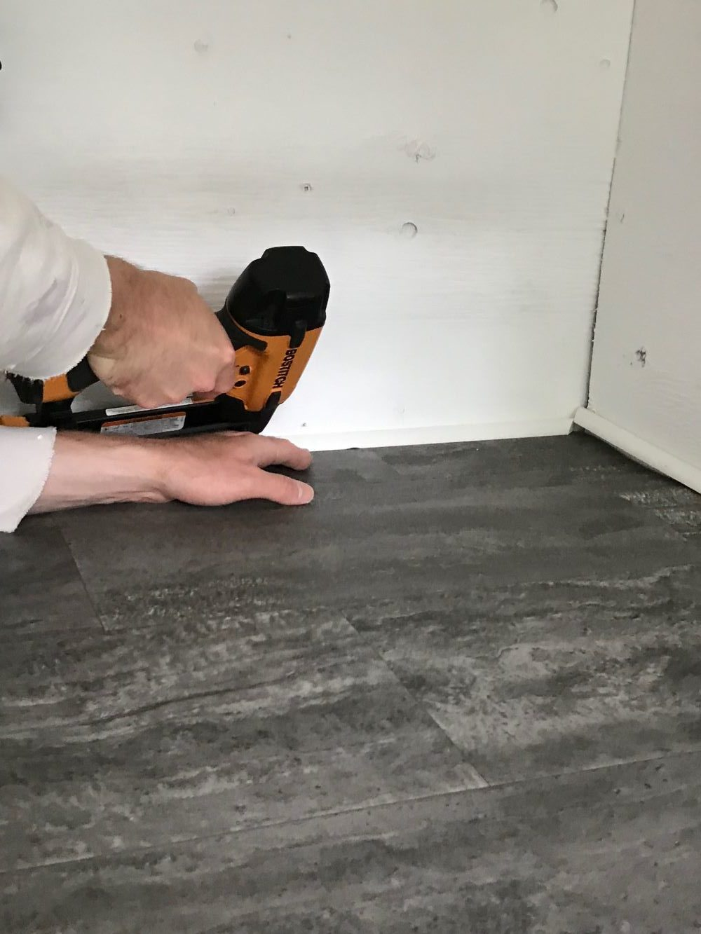 Easy to Clean Coop Flooring Idea
