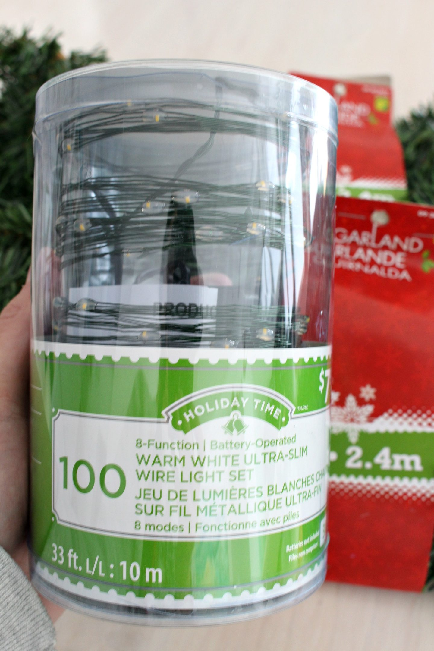 Thin Green Wire Ultra Slim Battery Operated Lights