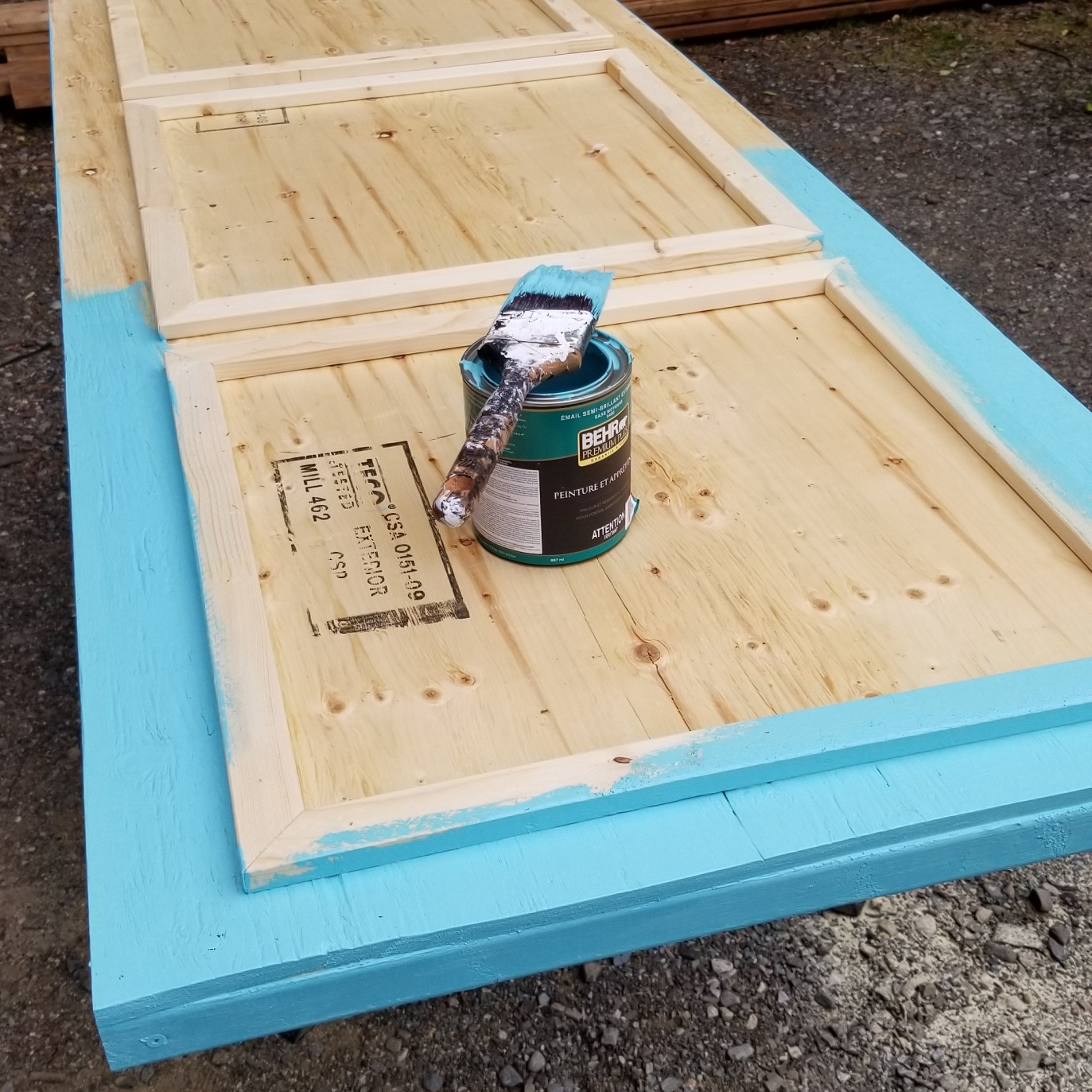 How to Build a Cheap Plywood Door