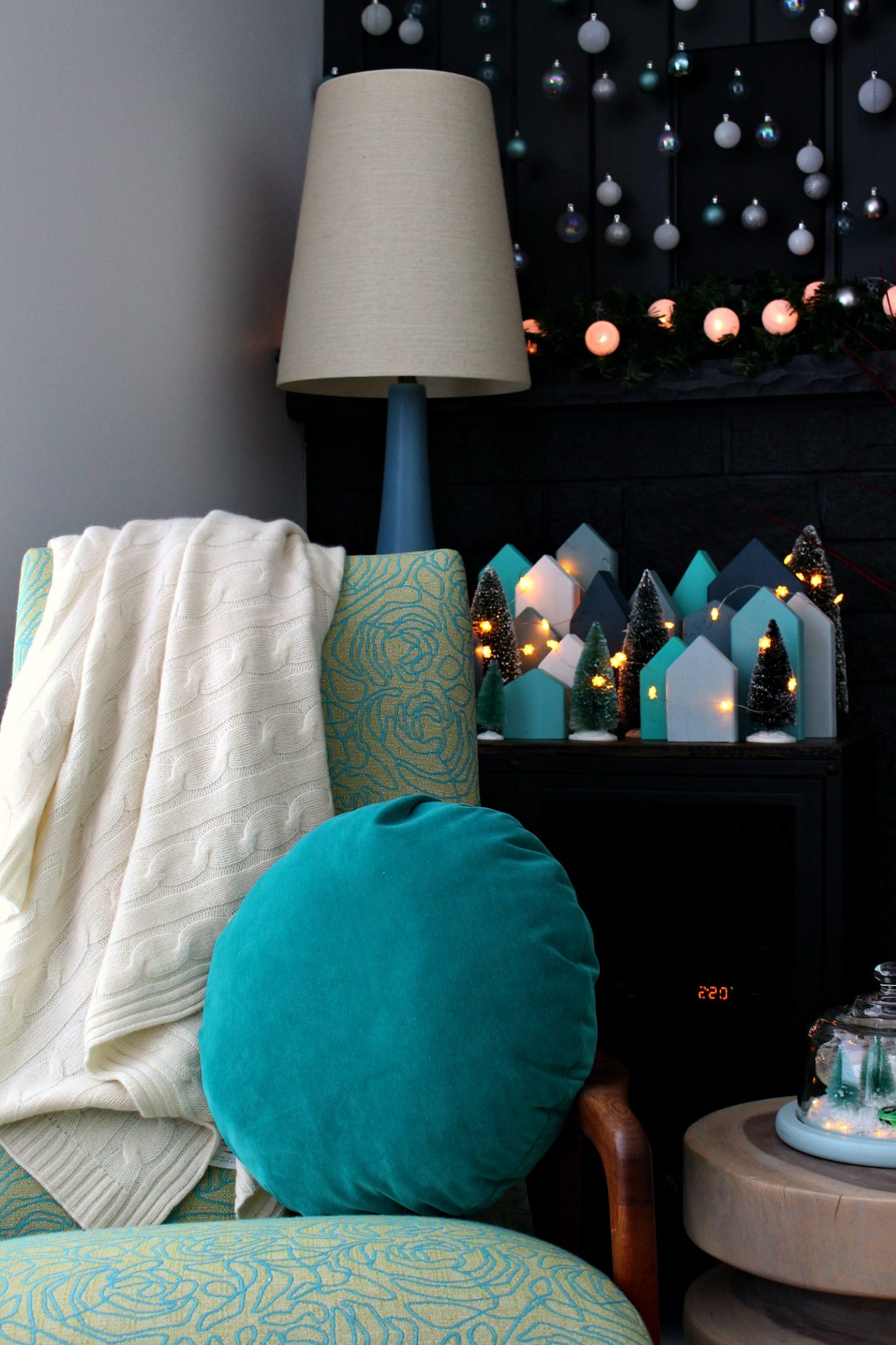 FREE DIY Holiday Village | Scrap Wood DIY Christmas Village