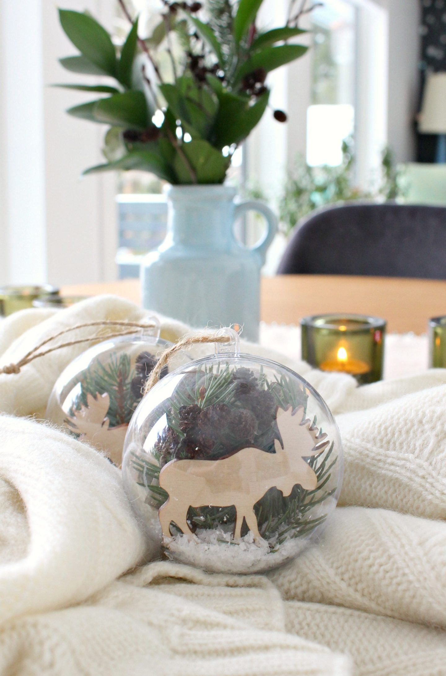 Nature Inspired DIY Ornament | Fillable Ornament Ideas
