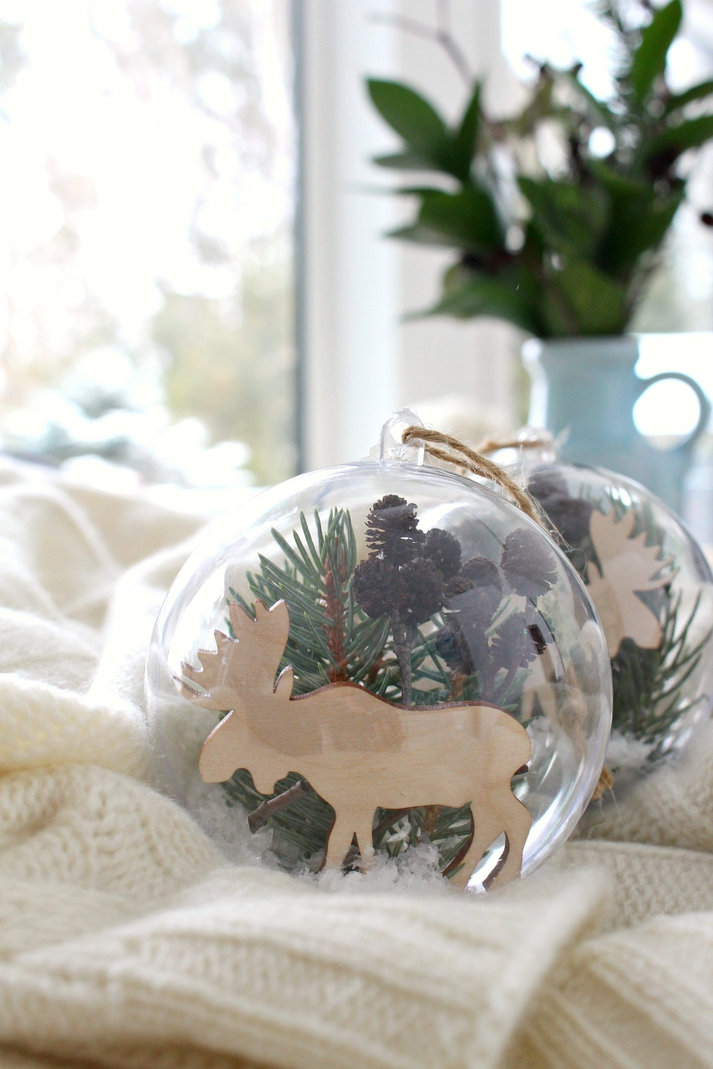 DIY Moose Ornament