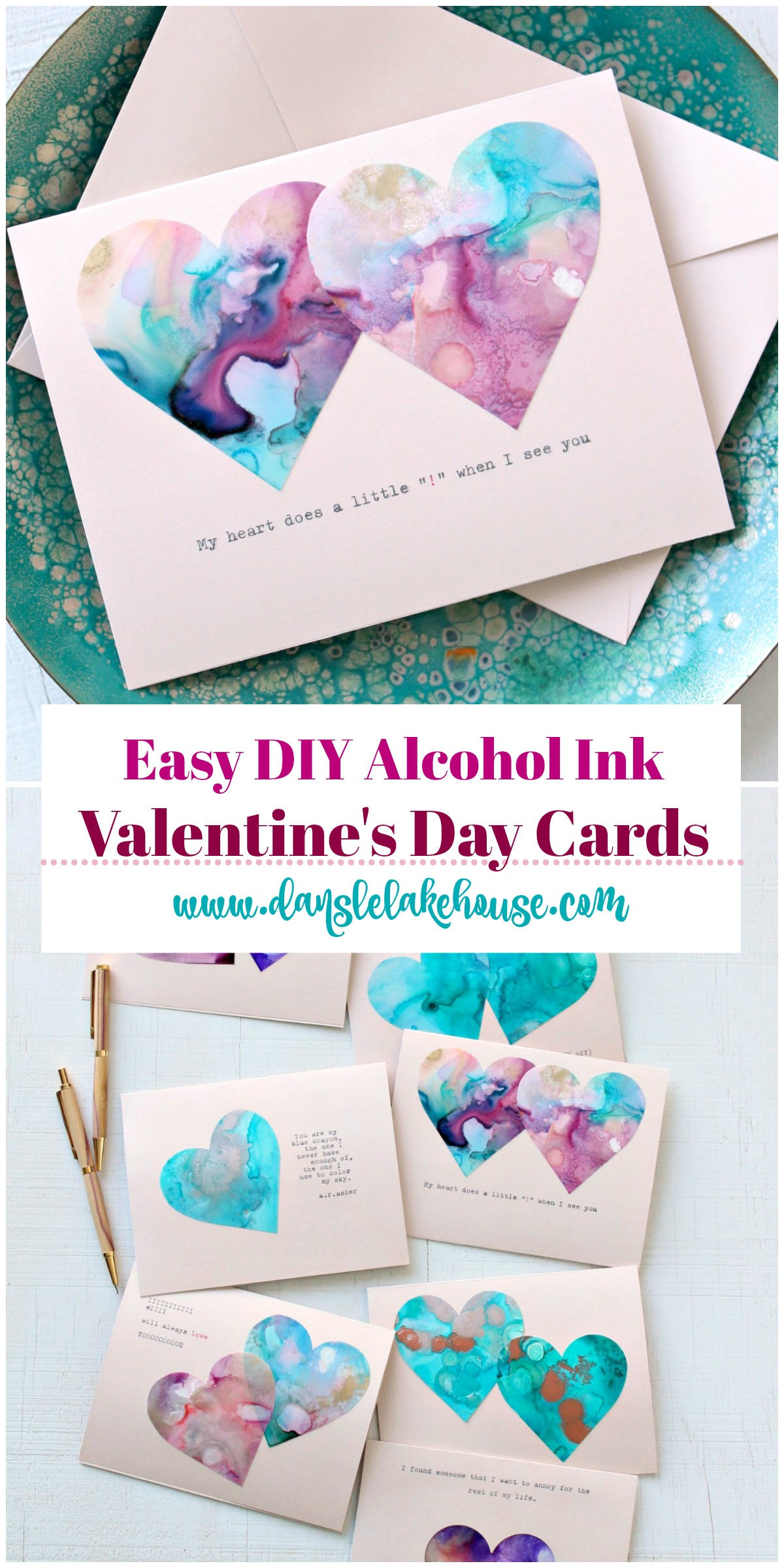 Easy DIY Valentine's Day Card Idea