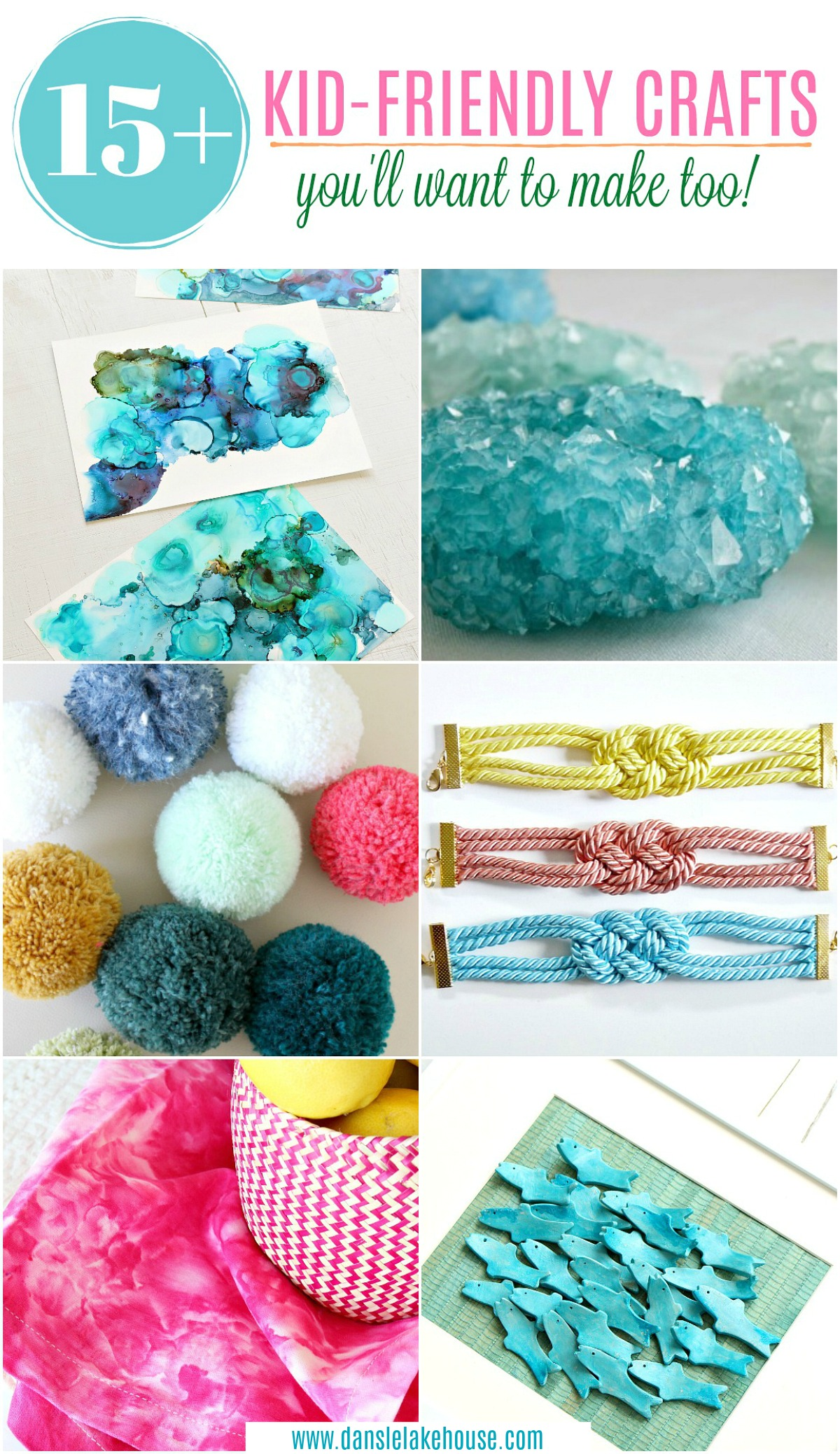 15+ kid-friendly crafts you'll want to make too