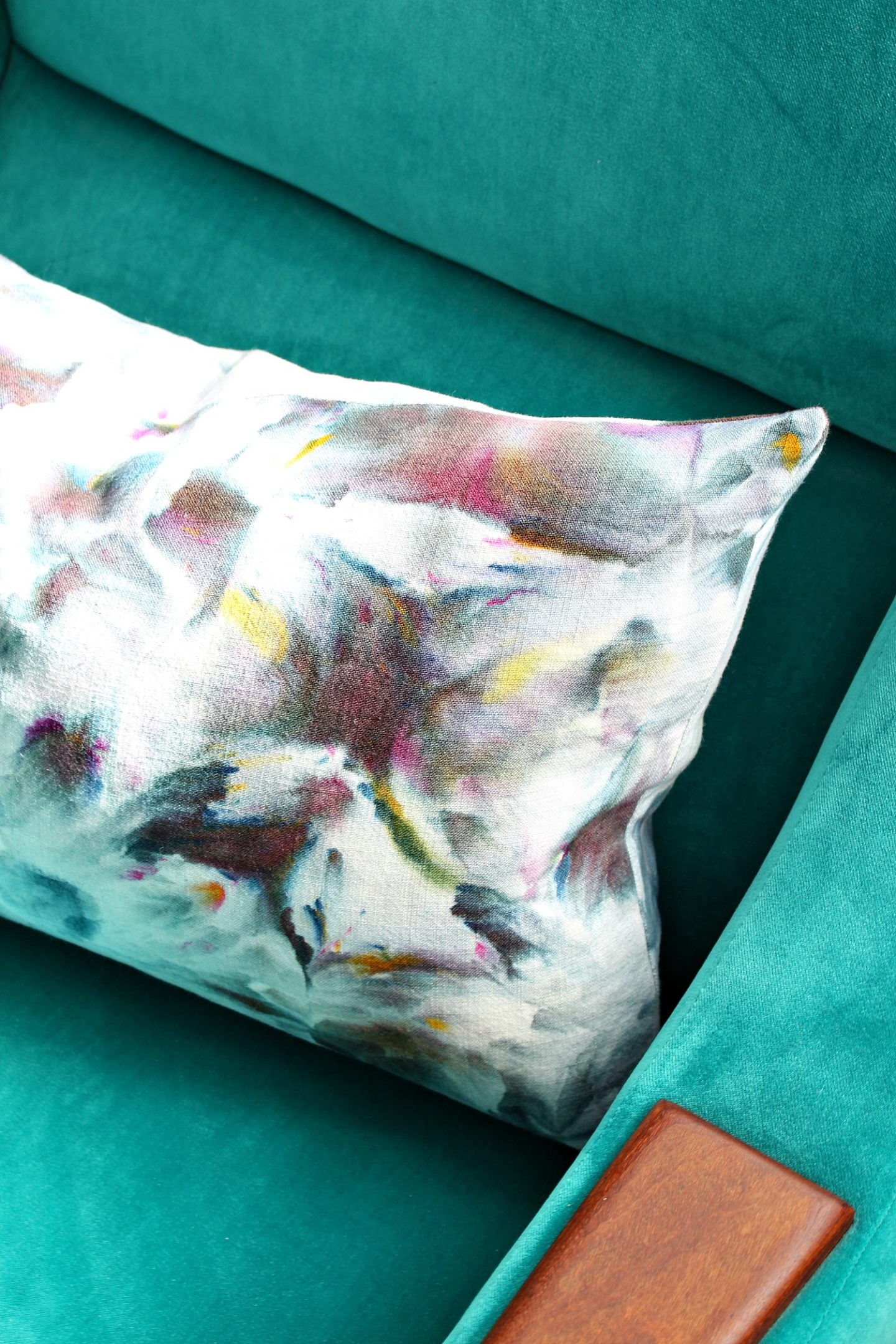 Ice Dyed Pillow