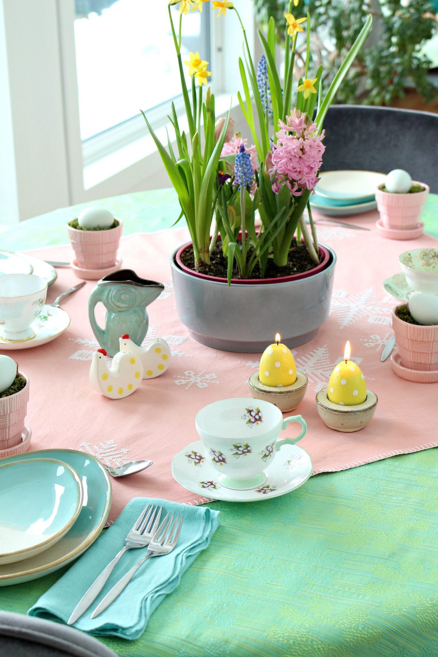 vintage tea cup party