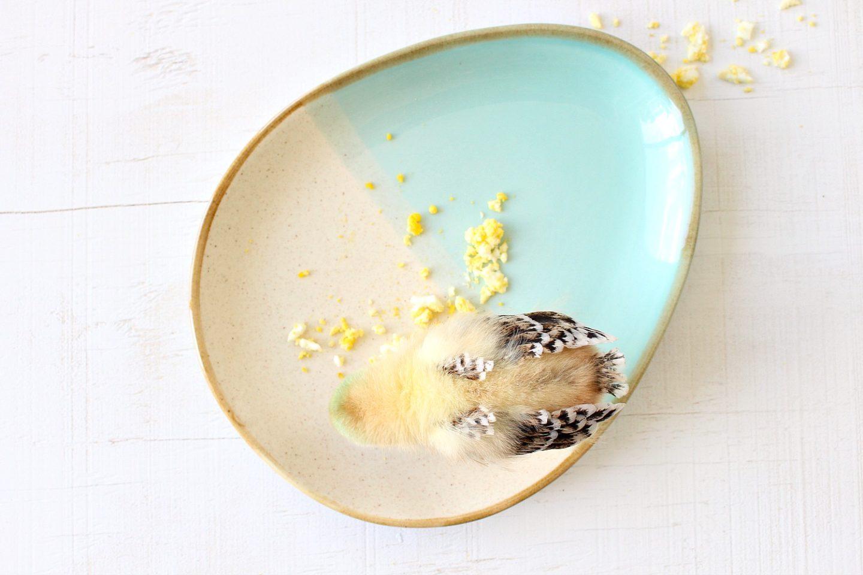 Egg Shaped Plate