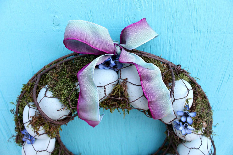 Wreath for Coop Door