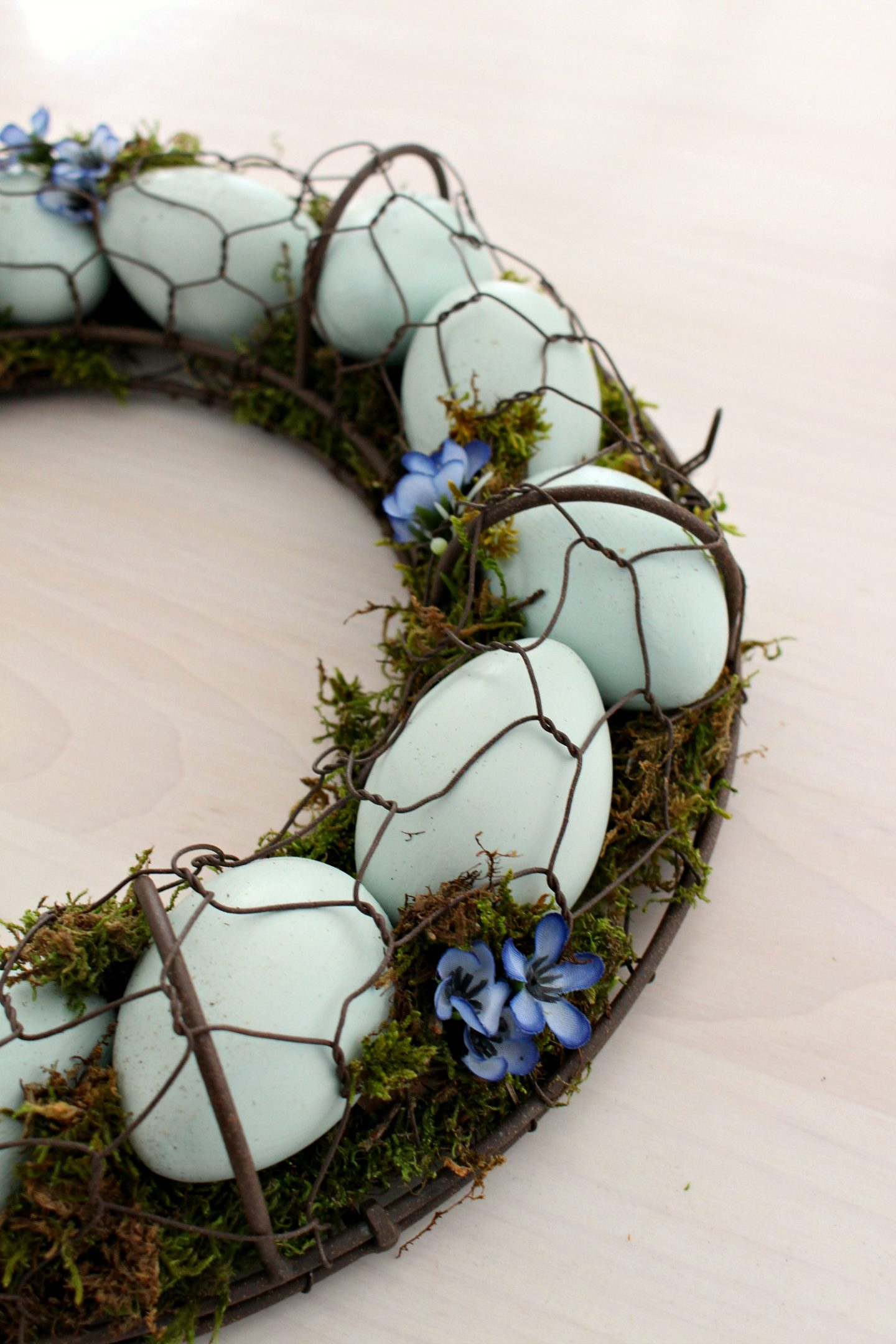 Handmade Egg Wreath