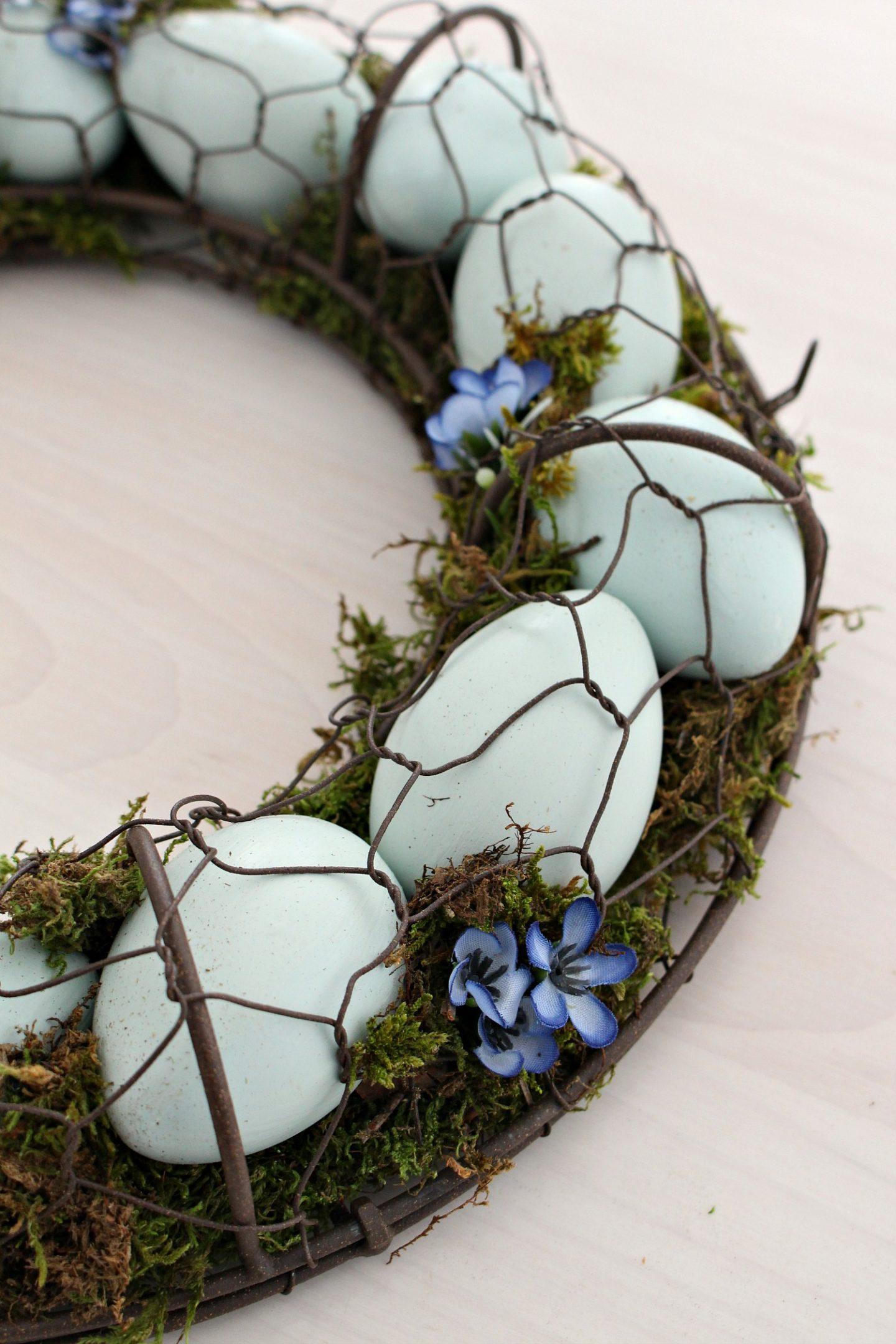 Ameraucana Egg Wreath