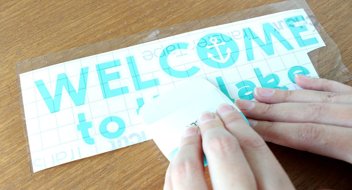 How to Get Cricut Transfer Tape to Stick