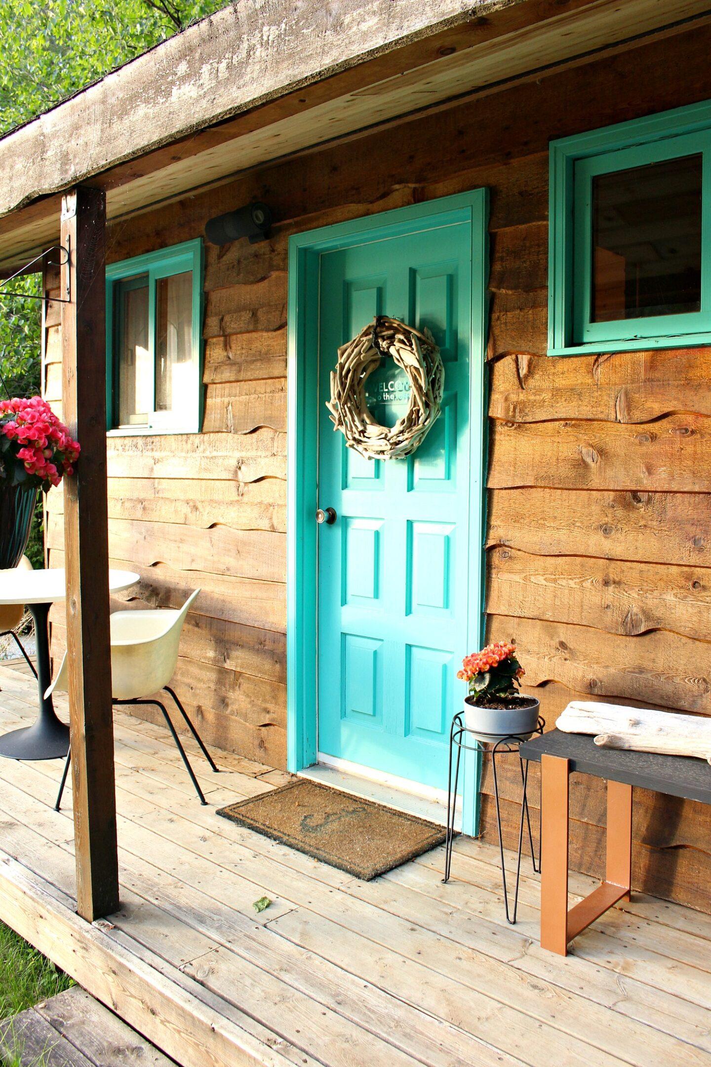 DIY Coastal Wreath with Cricut Joy Welcome Sign