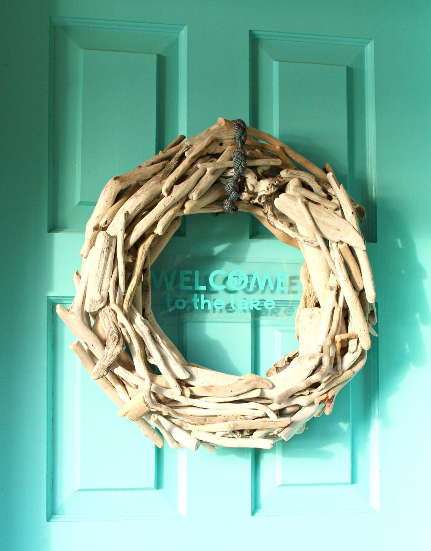 Lake House Wreath DIY