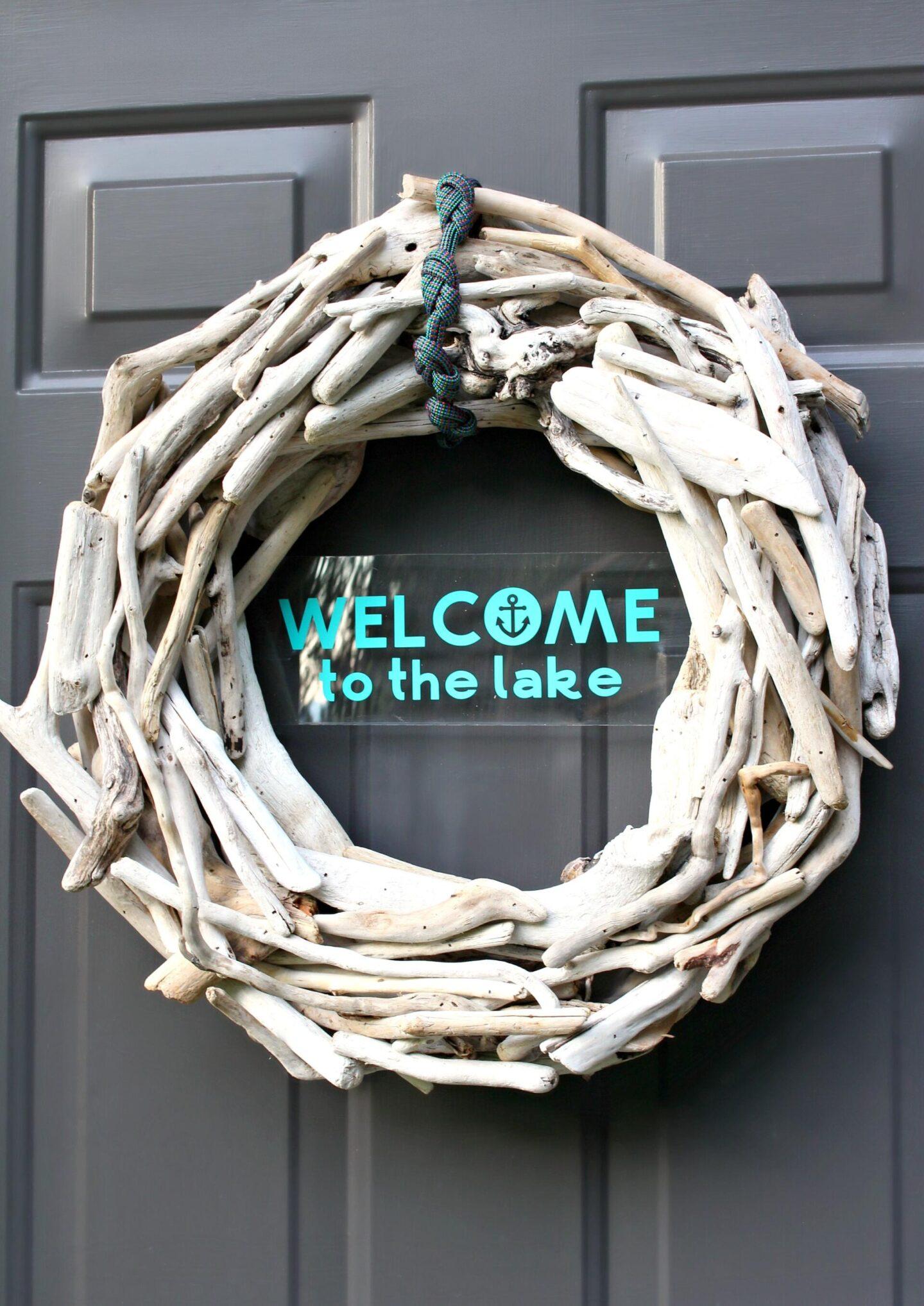 DIY Coastal Wreath Tutorial