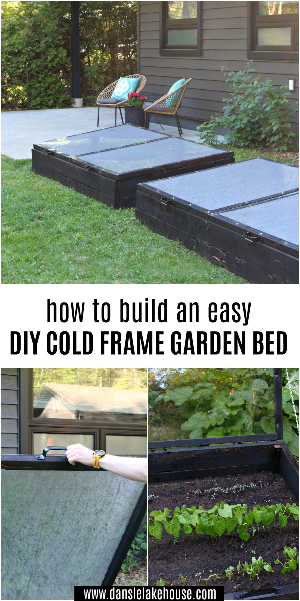 How to Build an Easy DIY Cold Frame Garden Bed