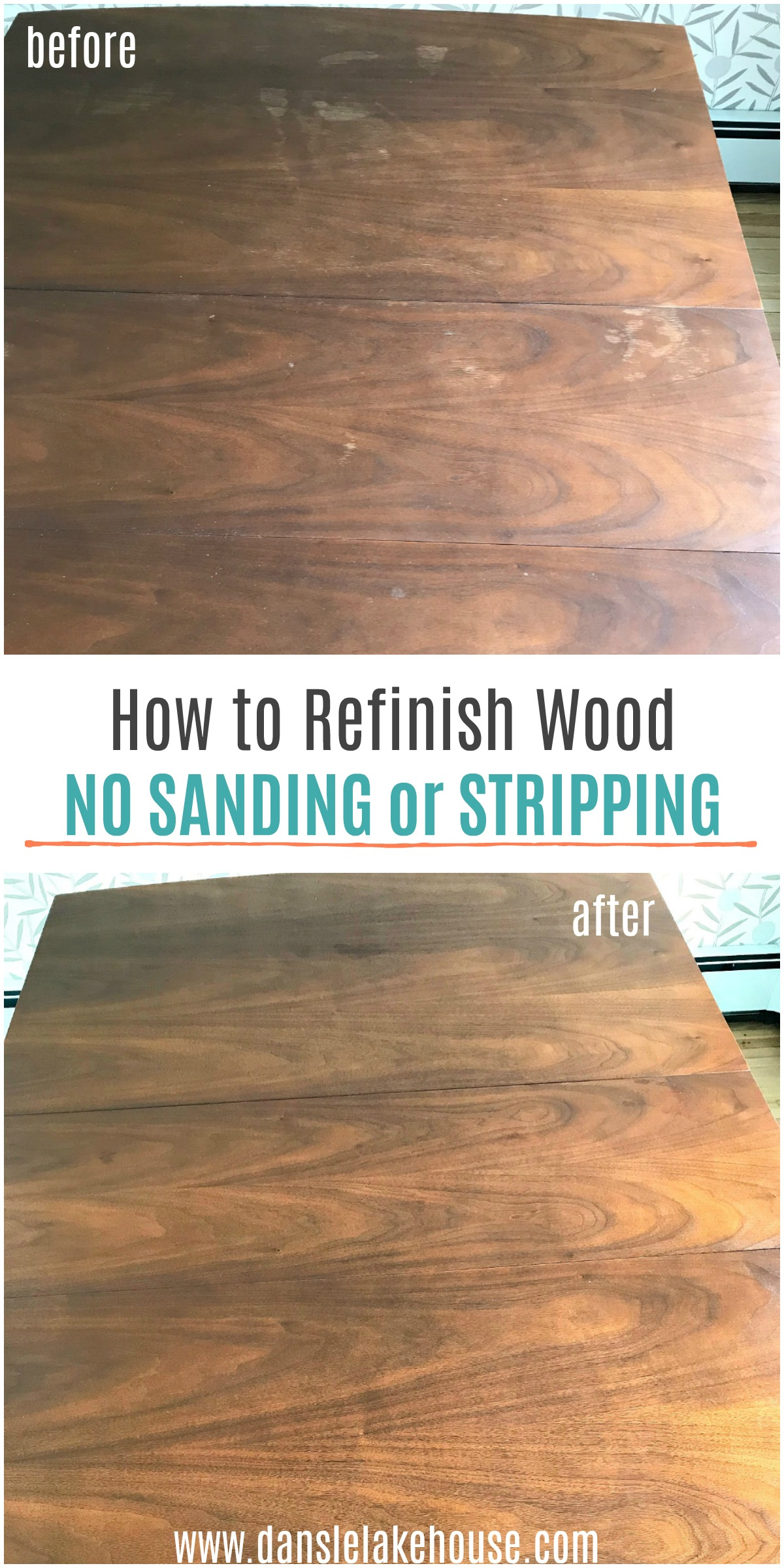 How to Refinish Wood without Sanding or Stripping