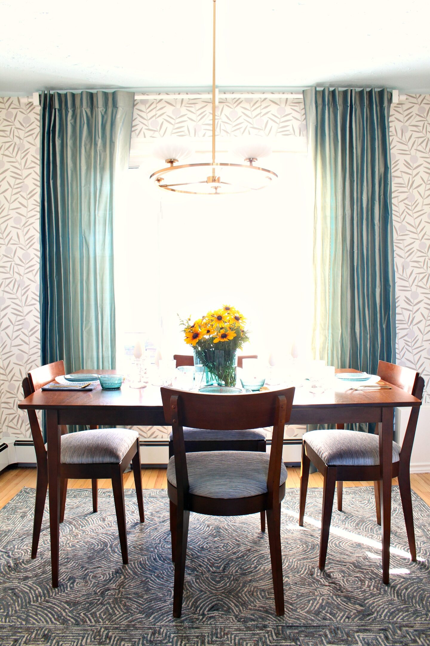 MCM Style Dining Room Decor