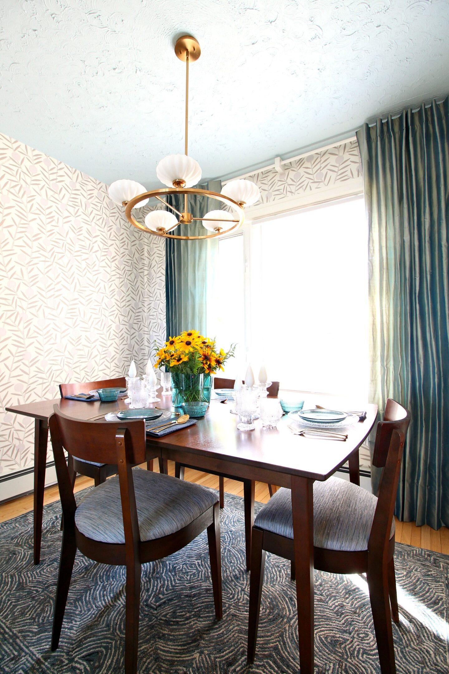 Mid-Century Modern Inspired Dining Room