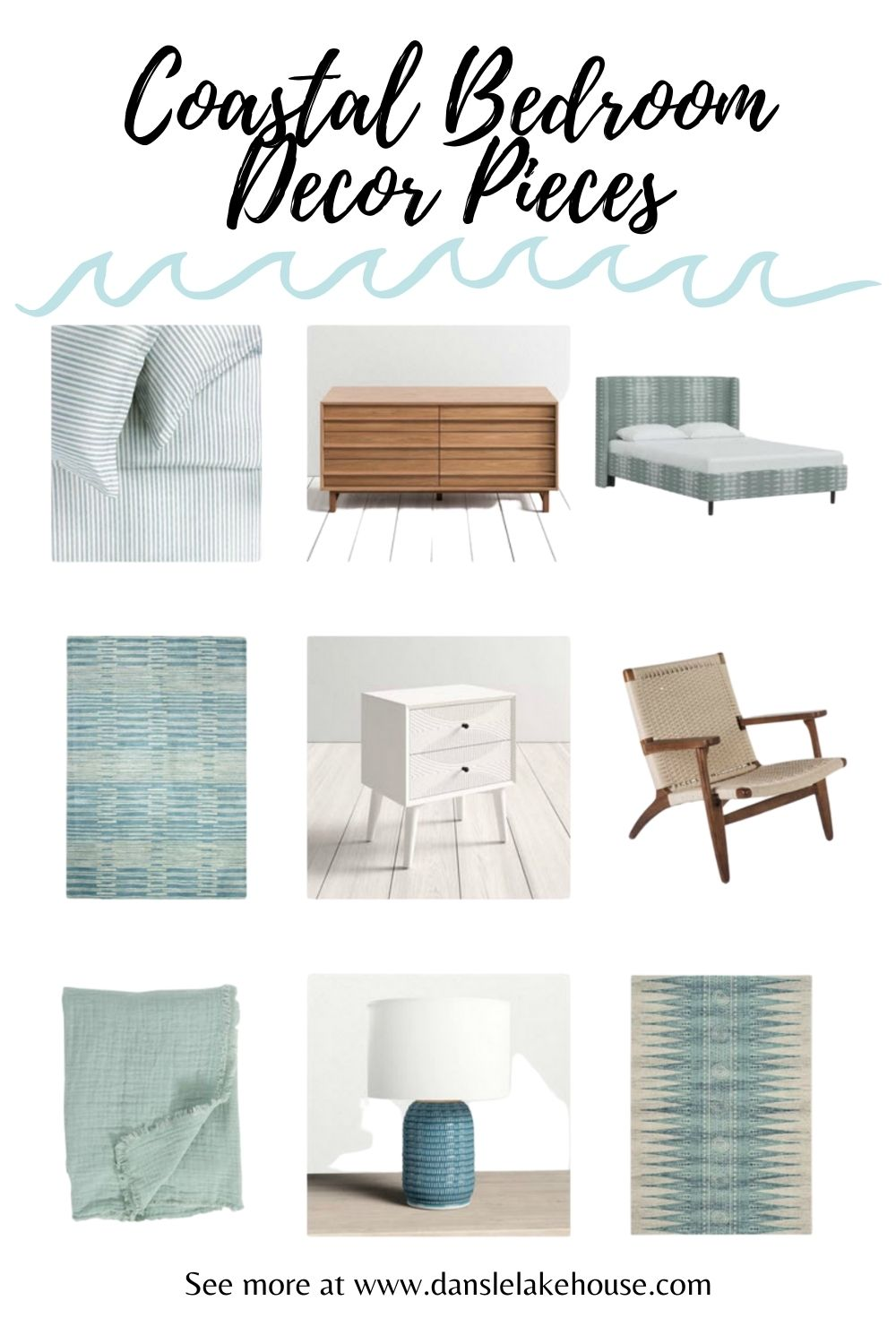 Coastal Bedroom Decor Pieces