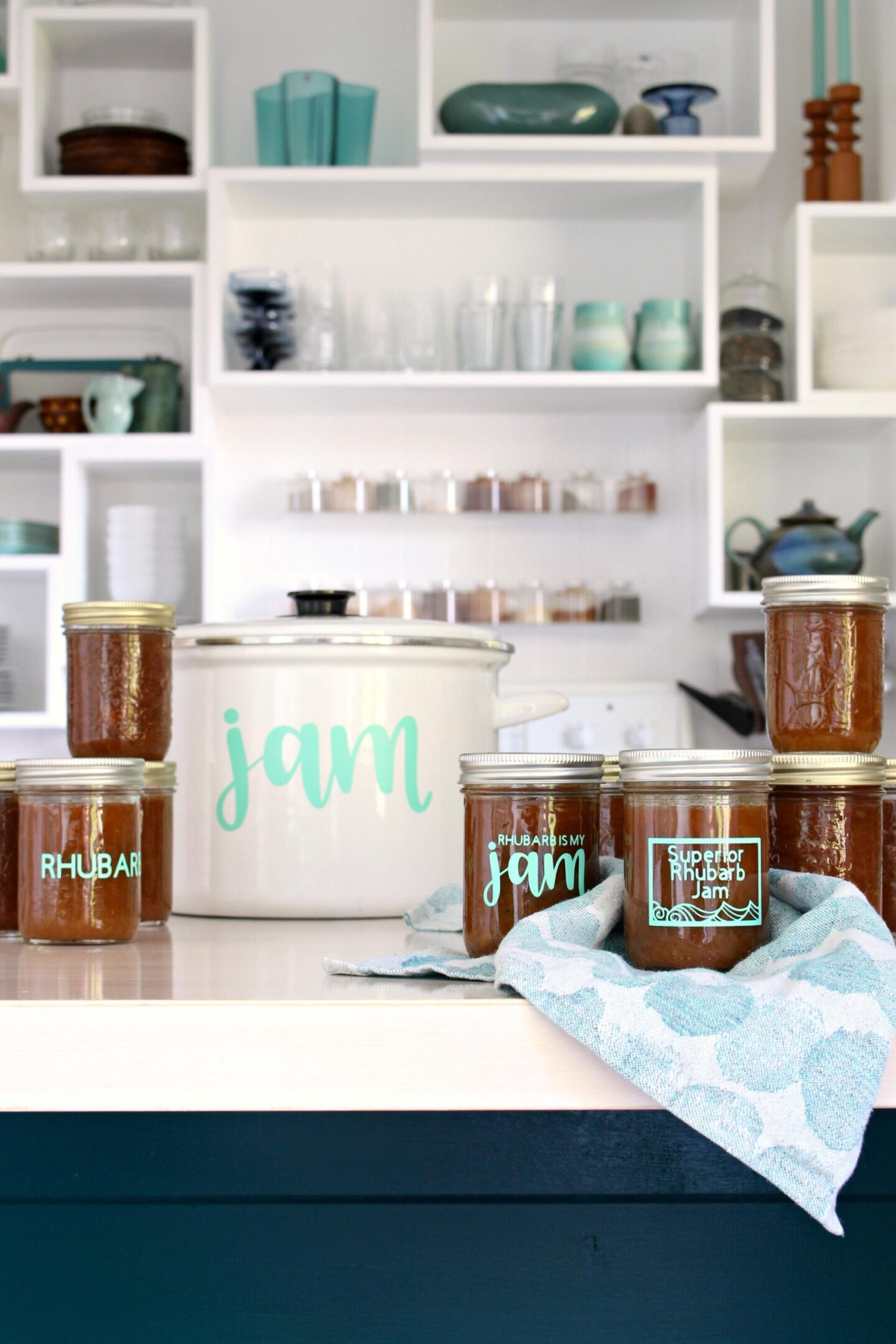 DIY Canning Labels with Cricut