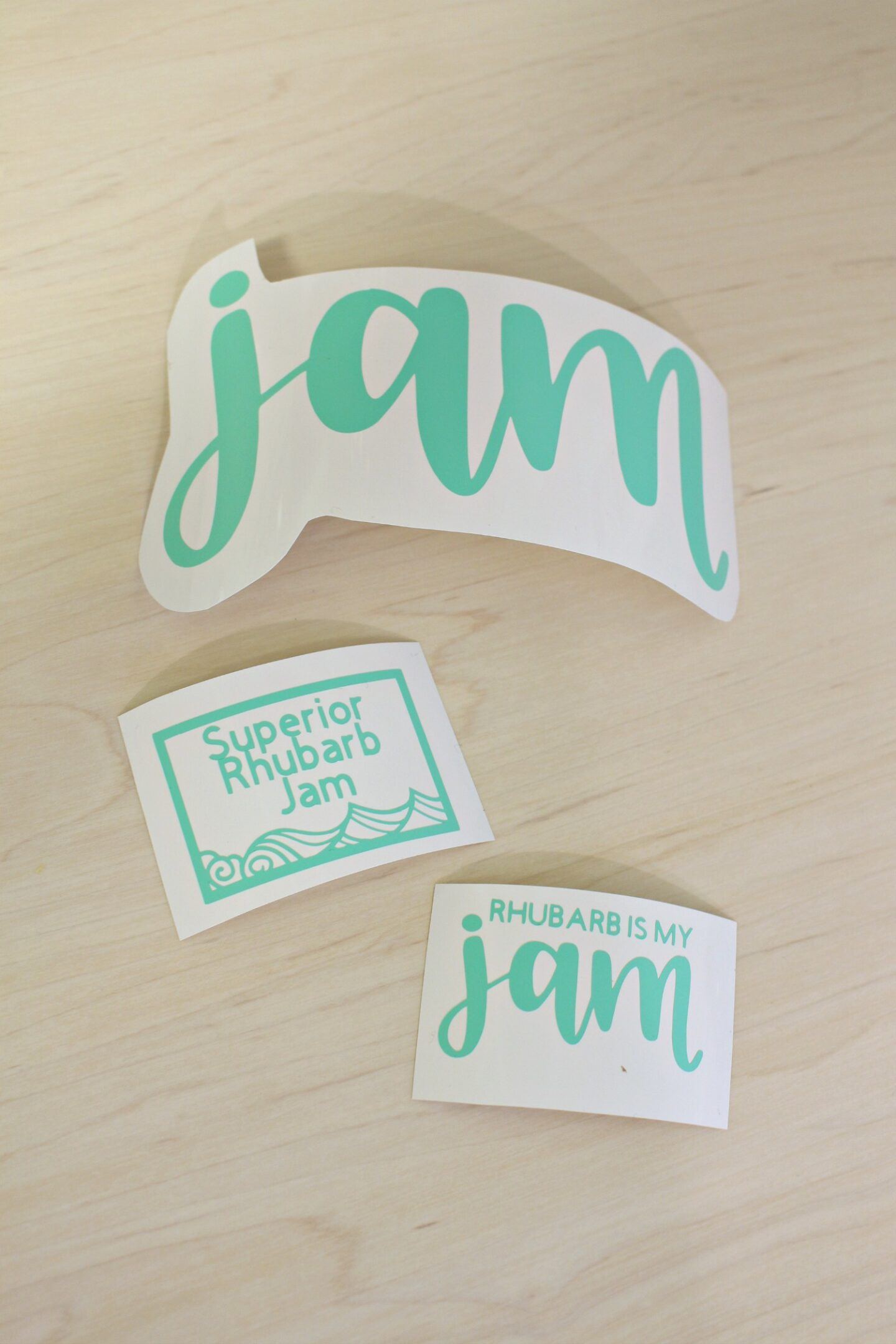 Cricut Jam Labels