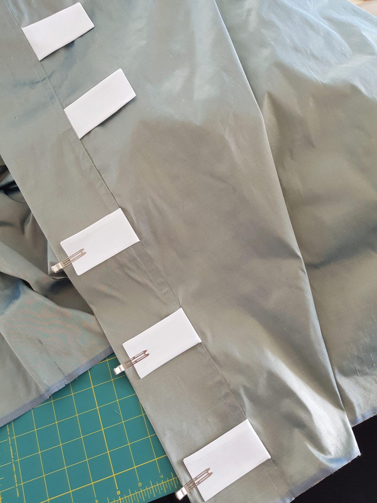 easy diy back tab drapes