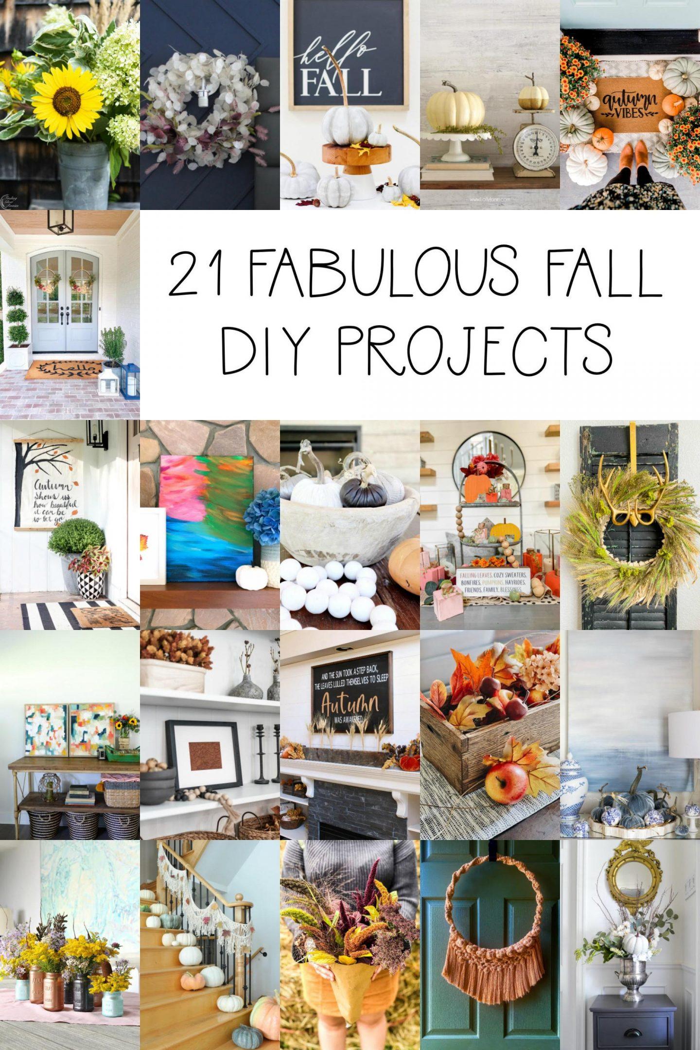 Fall DIY Project Ideas