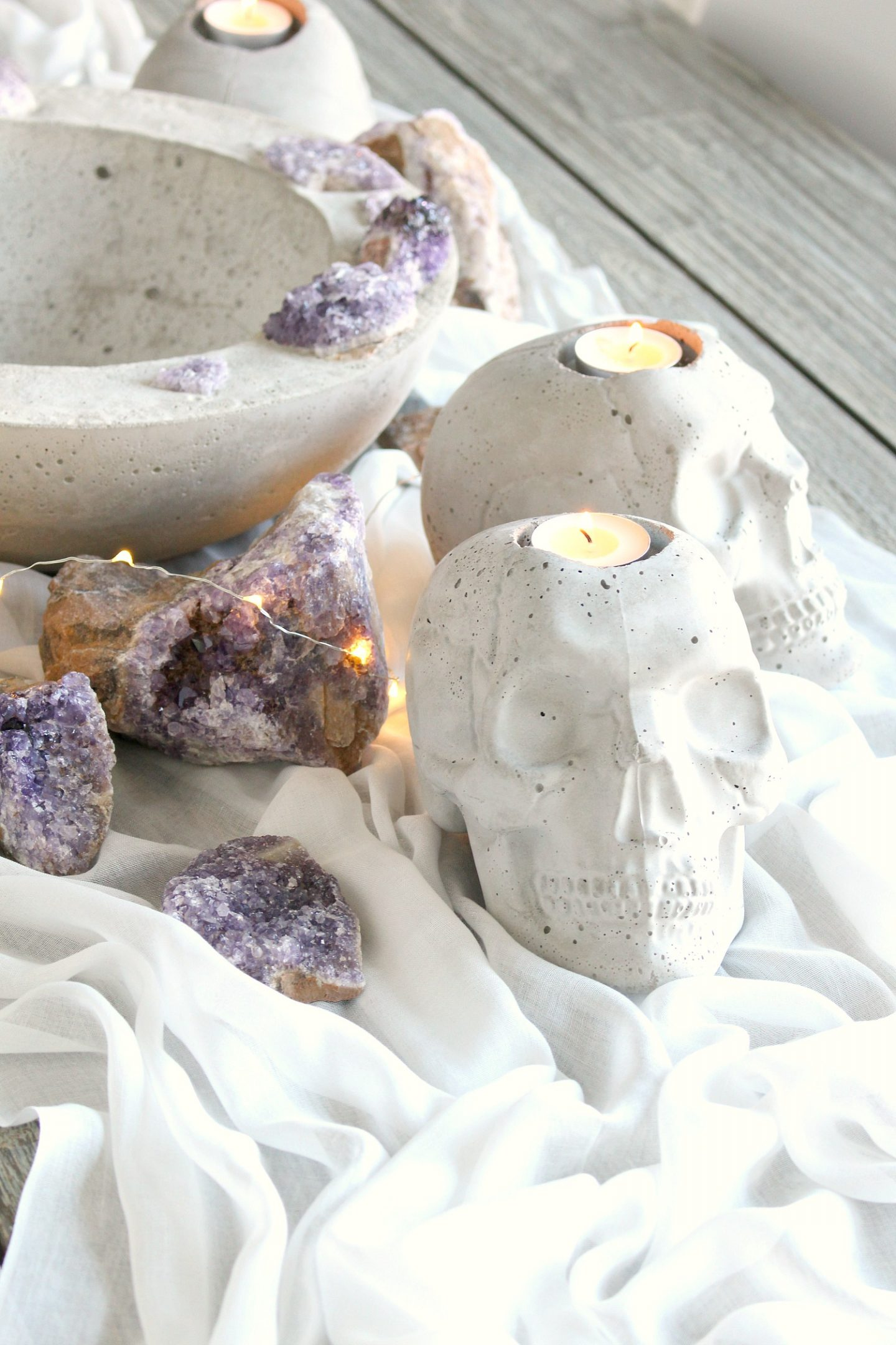 Modern Halloween Decor DIY