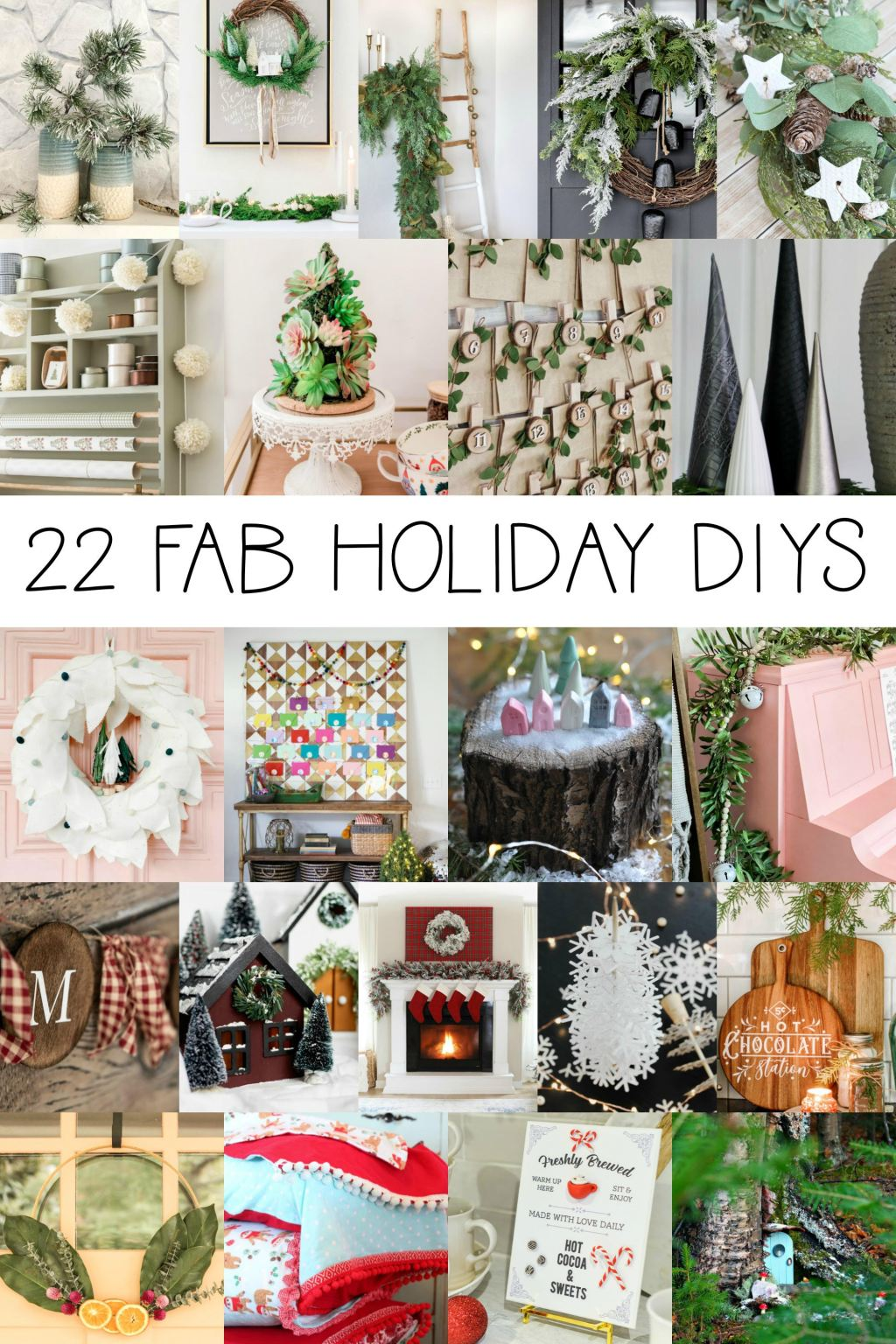 22 Christmas DIY Projects