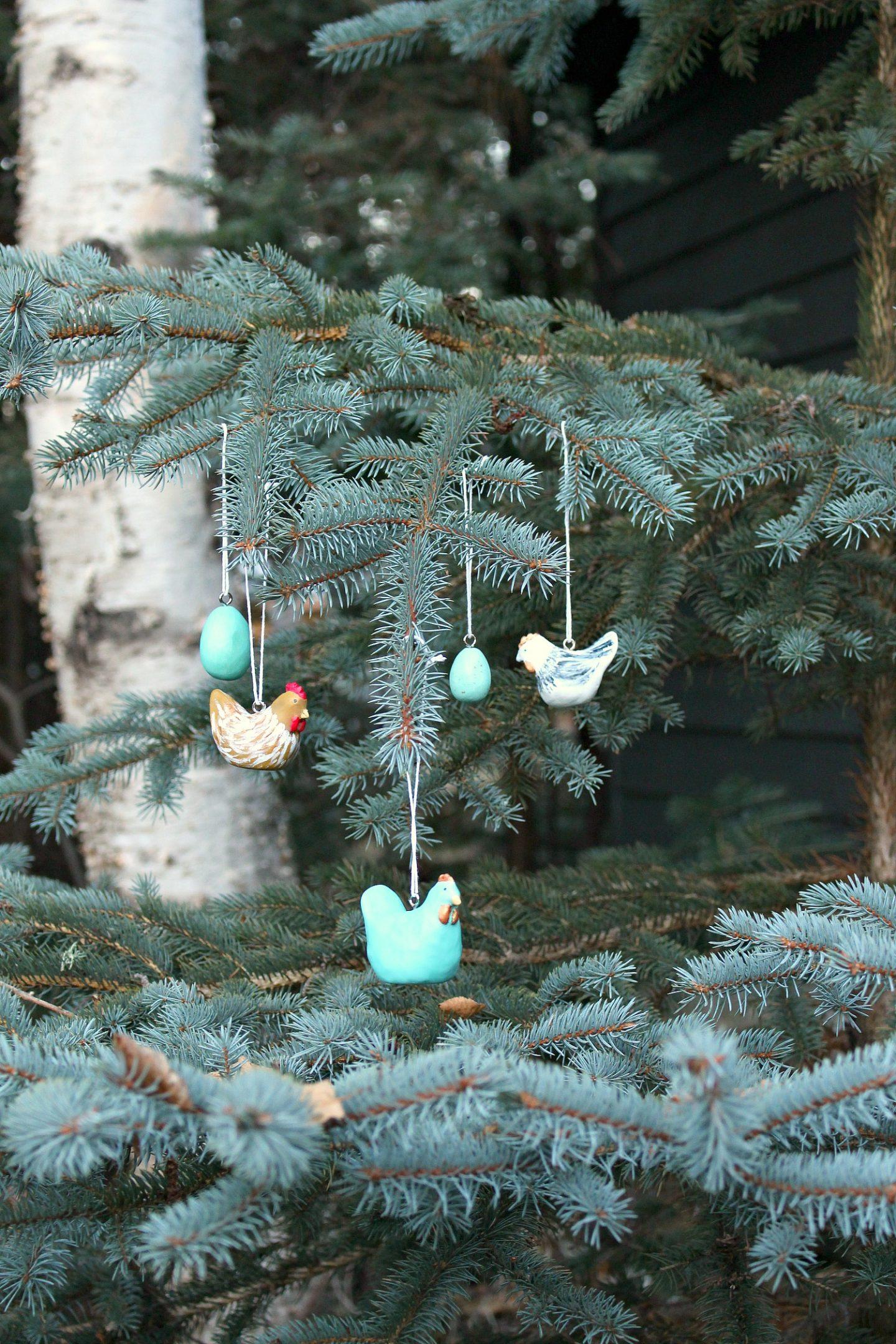 DIY Clay Chicken Ornament